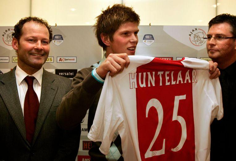 In januari 2006 ging Huntelaar voor het eerst naar Ajax Beeld ANP