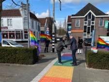 Bodegraven heeft een regenboogpad: 'Iedereen moet zichzelf kunnen zijn in onze gemeente'