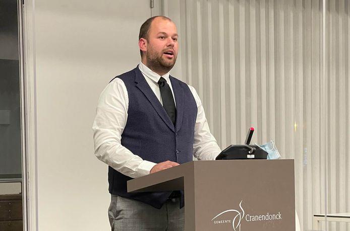 VVD-fractievoorzitter Jordy Drieman.