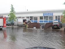 Hoosbuien zorgen voor wateroverlast