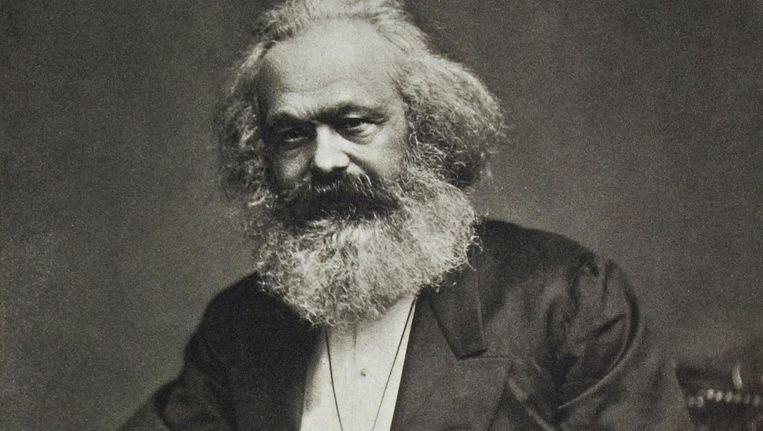 Karl Marx omstreeks 1880. Beeld Getty