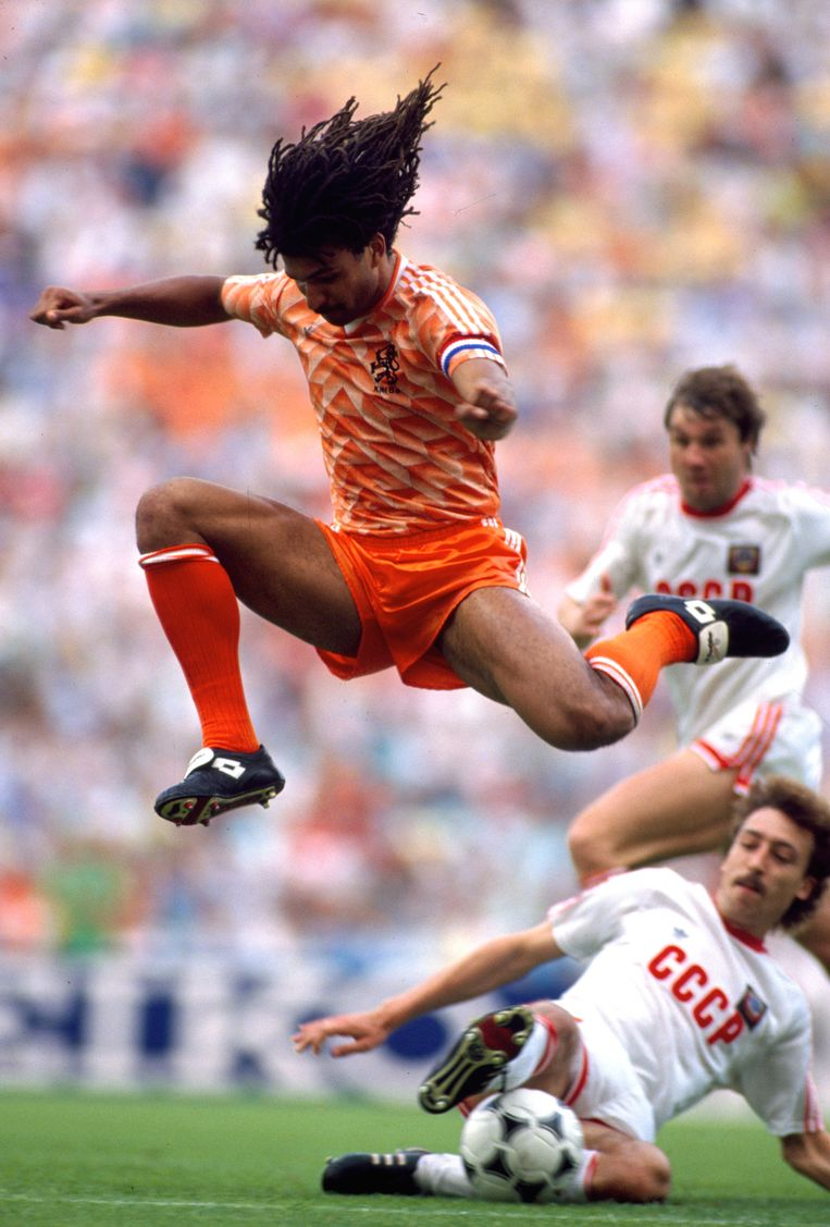 Ruud Gullit in 1988. Beeld Getty Images