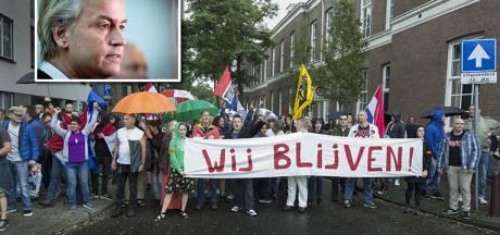 Wilders wil duizenden bij nieuwe demo Schilderswijk