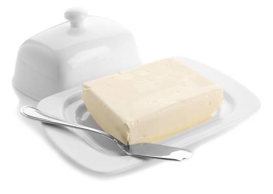Bewaar je boter in de botervloot.