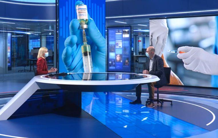 Pierre Van Damme Beeld VTM Nieuws