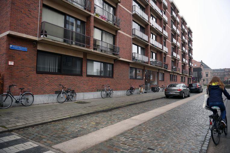 Overval in de Prosper Poulletlaan in Leuven.