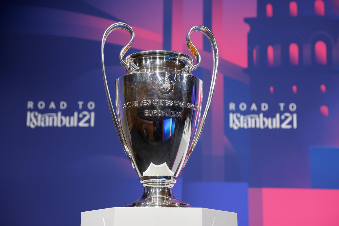 De Champions League-finale wordt zaterdag 29 mei gespeeld in Istanboel.