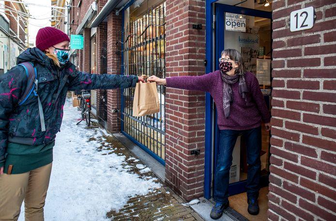 Een deel van de Utrechtse winkeliers deed al mee aan het 'click en collect'-syteem