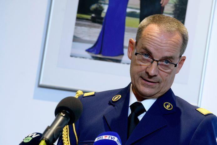Le commissaire-général Marc De Mesmaeker.