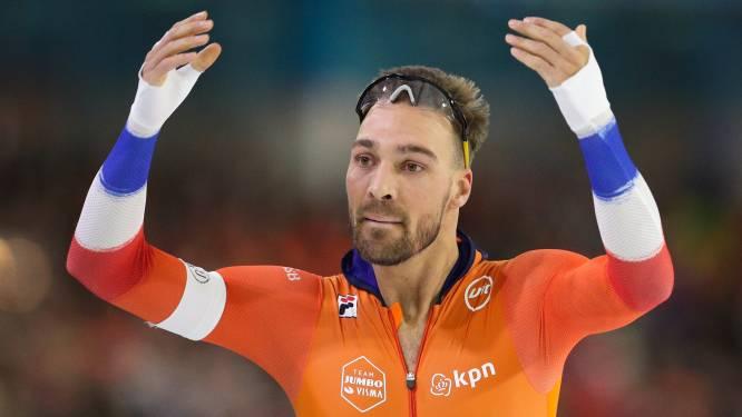 Kjeld Nuis komt ten val met fiets tijdens trainingskamp op Mallorca