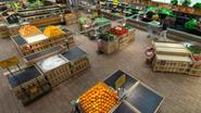 Zo zou je supermarkt er bijliggen zonder bijen