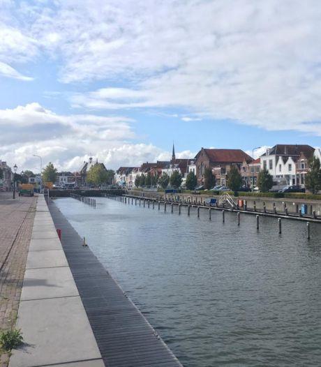 Oplaadstation voor boten in Brouwershaven