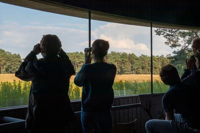 De wildkanseltocht van Natuurcentrum Veluwe.