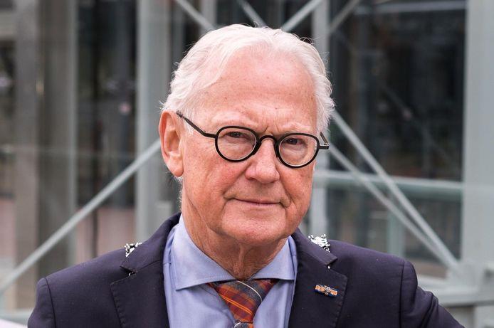 Waarnemend burgemeester Jan Pieter Lokker van Zoetermeer.