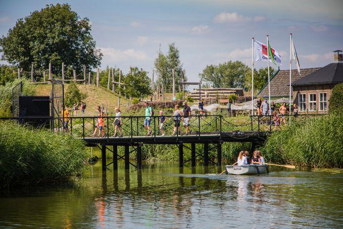 Het GeoFort in Herwijnen heeft vier ton steun gekregen van de overheid.