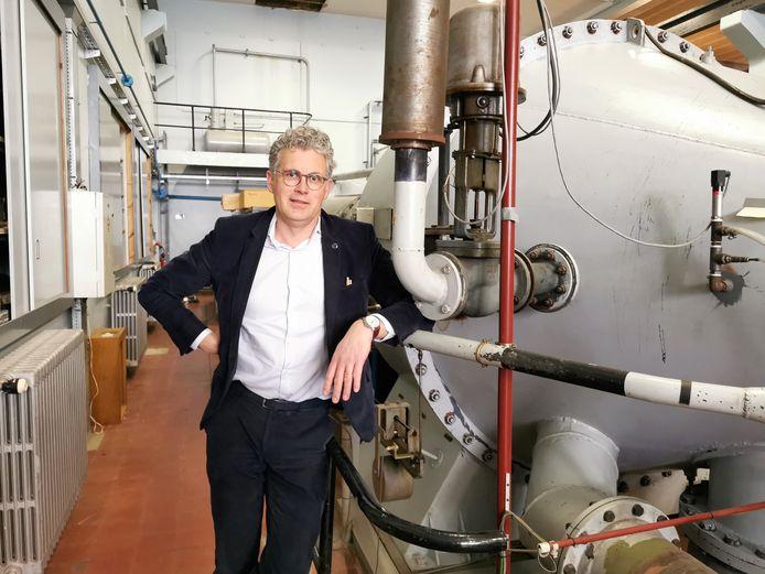 Managing director Peter Grognard van het Von Karman Instituut.
