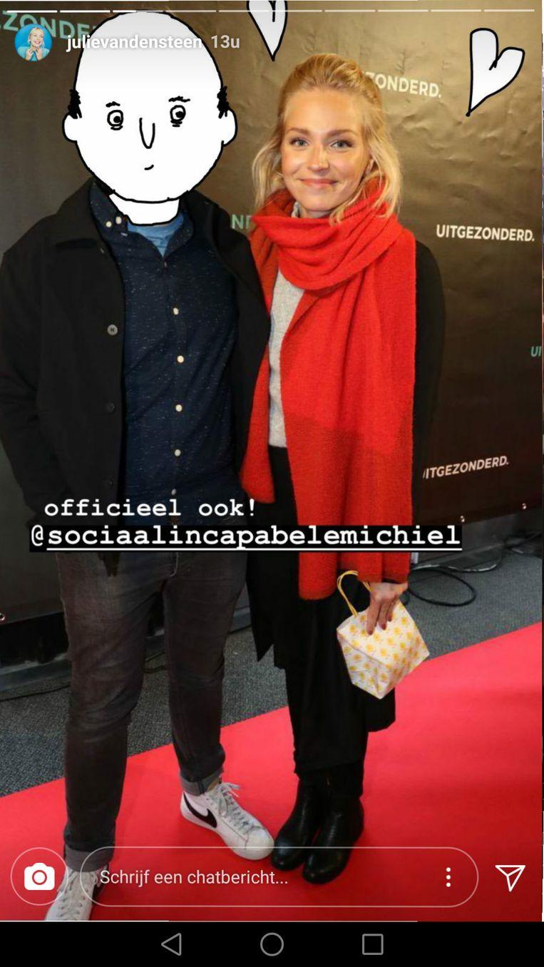 Julie Van den Steen en Sociaal Incapabele Michiel.