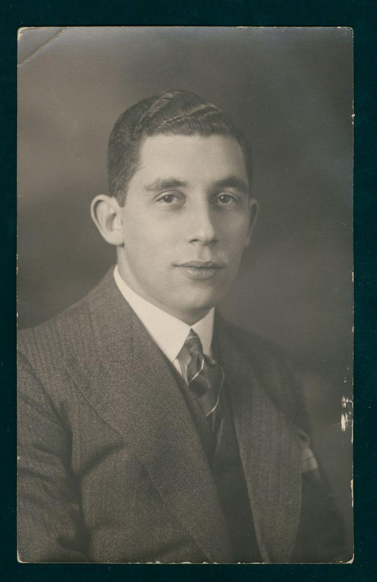 Binnerts' oom Arnold de Jong. Beeld Collectie Joods Historisch Museum