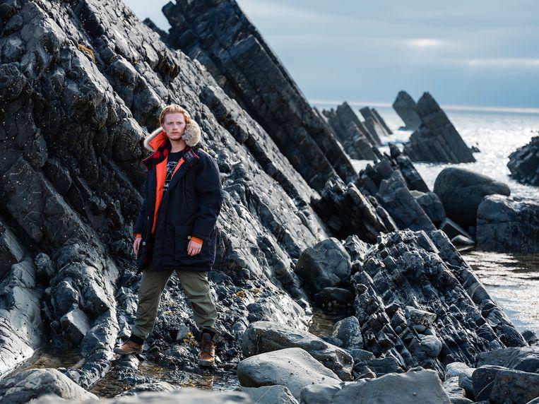 Een van de Woolrich-klassiekers, de Arctic-parka, kreeg een Griffin-update:  rechttoe rechtaan, met uitsluitend praktische details. Beeld Hannes Vandenbroucke