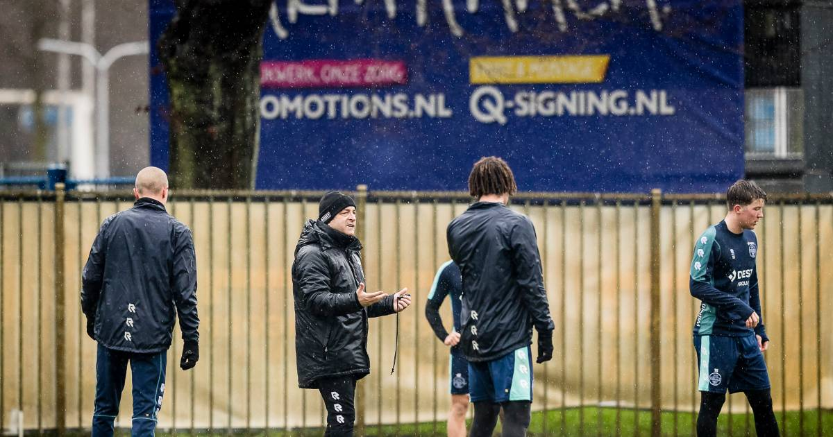 Petrovic: 'Als een speler niet mee wil, is het klaar met de vriendschap' - AD.nl