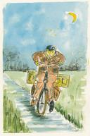 Johnny van Voren: Terug naar huis fietsen, in het boek Tussen water en wind