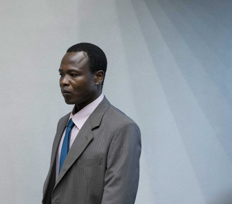 Dominic Ongwen. Beeld Hollandse Hoogte / European Press Agency (EPA)