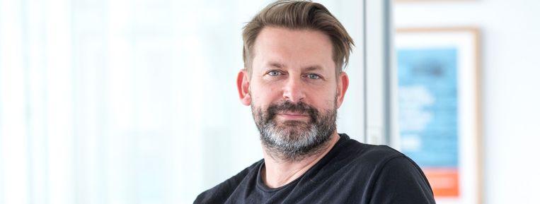 Olivier Goris, netmanager van Eén en Canvas.  Beeld VRT