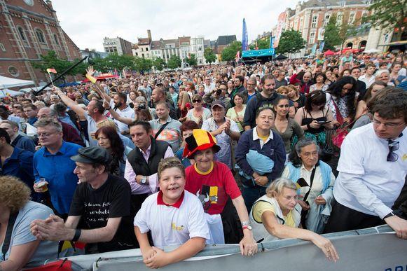 Ook dit jaar zullen er scherpe veiligheidsaatregelen gelden op onder meer het Vossenplein.