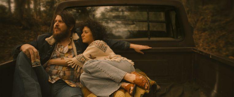 Blaze Foley en zijn geliefde Sybil Rosen, prachtig gespeeld door Ben Dickey en Alia Shawkat Beeld