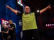 Van Gerwen in halve finale World Matchplay tegen Wright: 'Als hij ìemand de mond wil snoeren...'