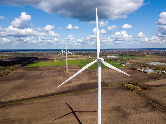 Er was groot verzet in De Rips en Elsendorp tegen het plan om windmolens te plaatsen tussen beide dorpen.