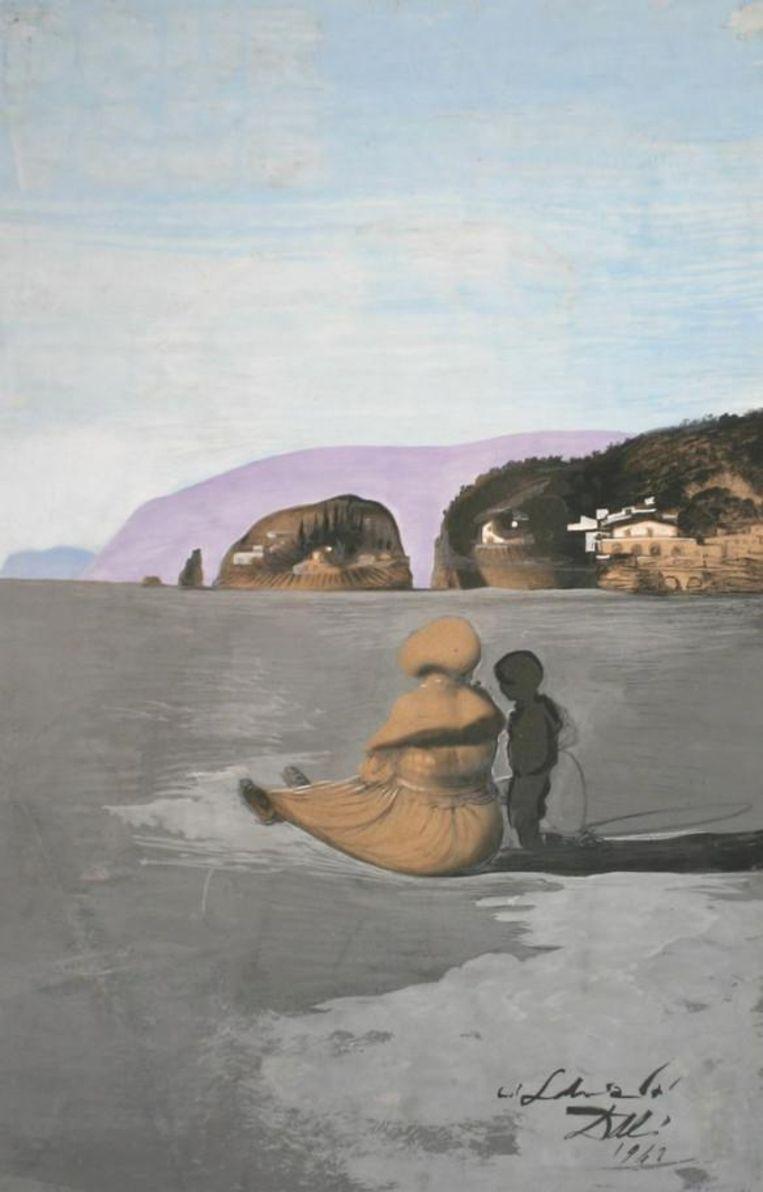Salvador Dalí, Adolescence (1941). In 2009 werd het gestolen uit het Scheringa Museum. Beeld c/o Pictoright Amsterdam