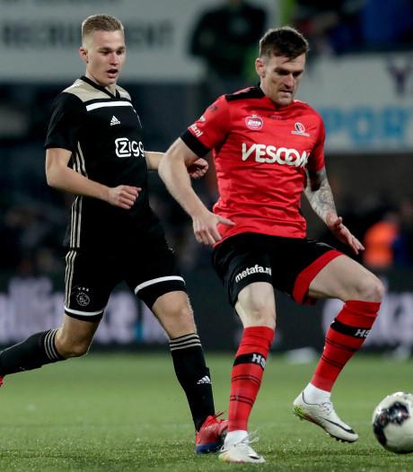 Helmond Sport-spits Arne Naudts gaat aan de slag in de 3. Bundesliga