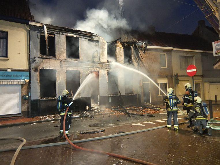 Halfweg 2014 legde een zware brand het café in de as. Later werd het pand afgebroken.