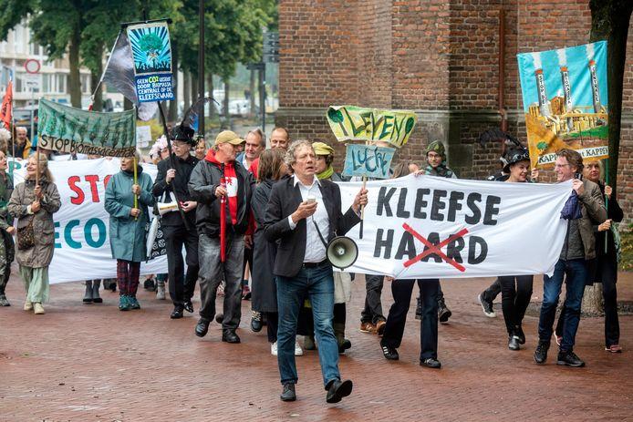 Arnhem, 11 september 2019. Boenmars: Een groep bomenliefhebbers marcheert vandaag door de stad. 204765 . Foto: Gerard Burgers