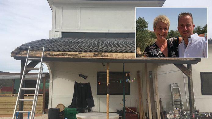 Gine en David Shearlaw kochten een huis in Spanje dat bij de eerste regenbui voor een deel uit elkaar viel.