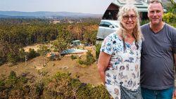 "Onze journaliste sprak met bewoners mirakelhuis in Australië: ""Elke boom in het bos is afgebrand, maar ons huis bleef gespaard"""