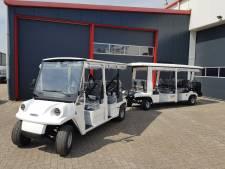 Hellevoets treintje gaat toeristen vervoeren over Voorne