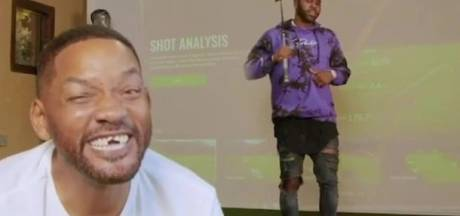 Bizar filmpje: Jason Derulo slaat voortanden Will Smith eruit met golfclub