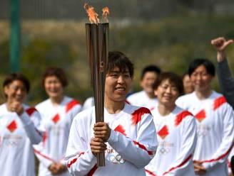 Olympische fakkeltocht zonder publiek van start in Fukushima