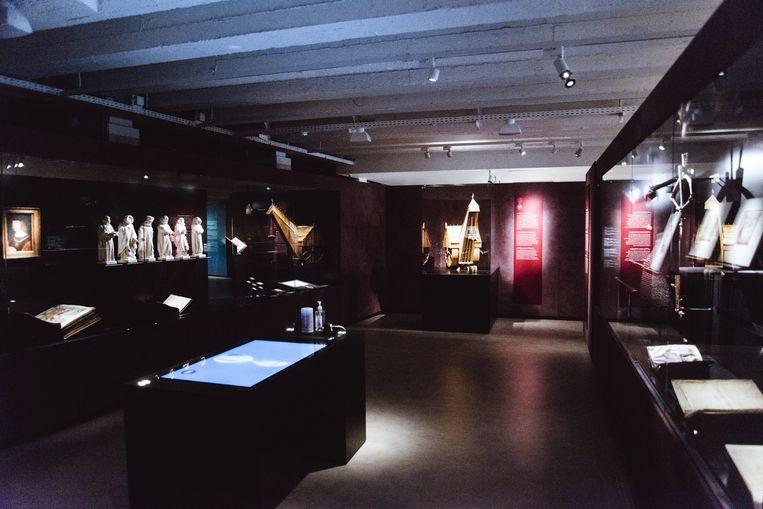 Het KBR-museum brengt het oerverhaal van de Lage Landen tot leven. 'Dit wordt een internationaal topmuseum, dat kan niet anders.' Beeld Francis Vanhee