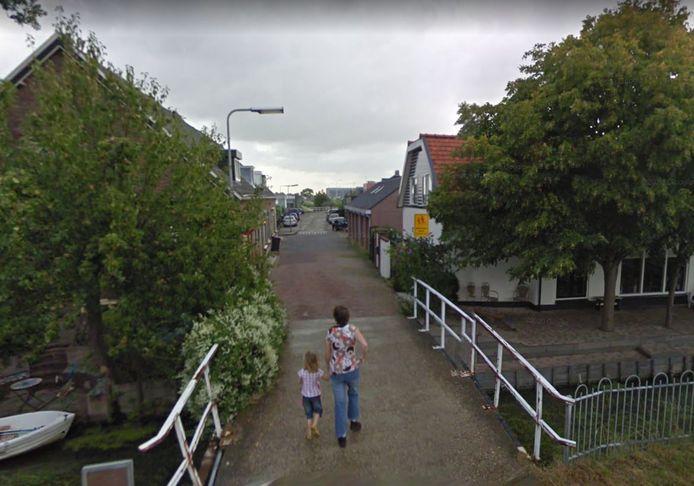 De Verkadestraat in Maasdijk.