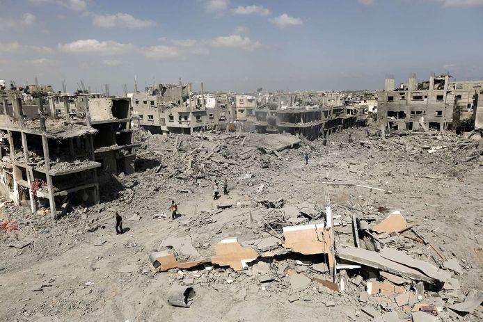 Bij een explosie in een school in Beit Hanoun vonden 15 mensen de dood.