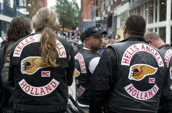 Hells Angels in Amsterdam (Themabeeld)