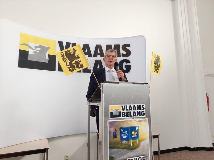 Voorzitter Joost Hysselinckx mikt op de verkiezingen van 2024.