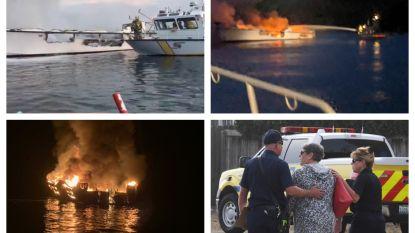 25 lichamen gevonden na brand op boot voor kust van Californië