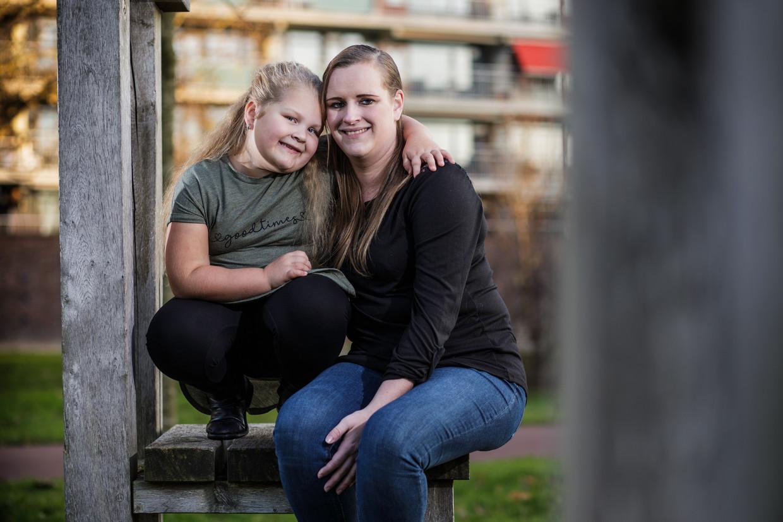 Moeder Ilonka: 'Megan heeft een zeldzame hormoonziekte, waardoor ze altijd honger heeft.'
