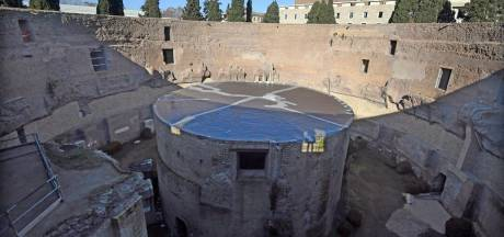 Run op gratis tickets voor gerestaureerd mausoleum keizer Augustus in Rome