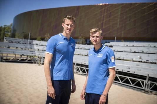 Christiaan Varenhorst en Jasper Bouter.