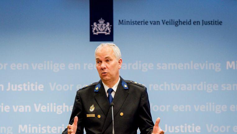 De Amsterdamse hoofdcommissaris Pieter-Jaap Aalbersberg. Beeld anp